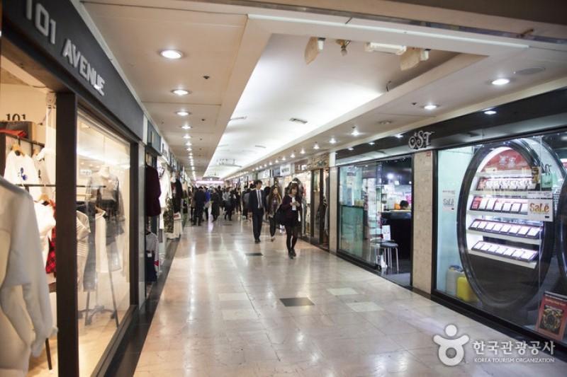Seomyeon Underground Shopping Center Trippose