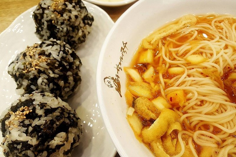 "The name of this restaurant means ""grandma's noodle soup."" Opened in 1958,  the restaurant serves guksu made from a traditional recipe handed down to  ..."