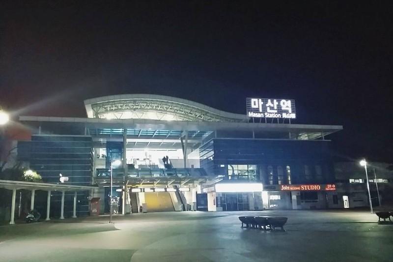 馬山駅 | 마산역 : トリップポーズ
