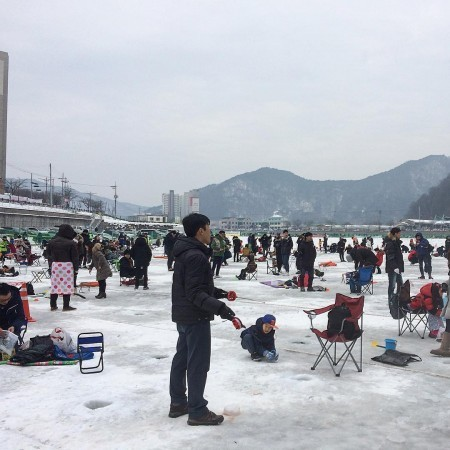Hwacheon Sancheoneo Ice Festival One Day Tour