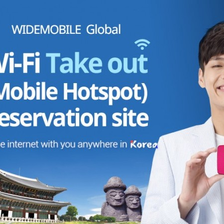 WIDE-MOBILE Pocket Wi-Fi Rental in Korea