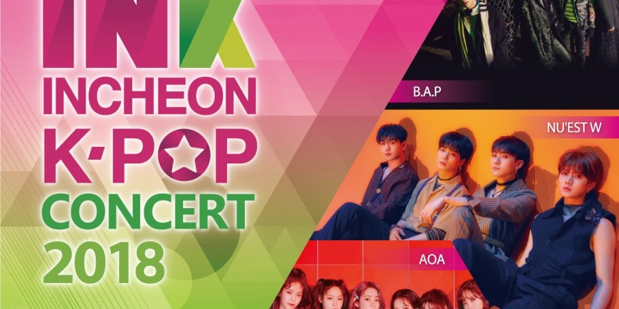 INK Incheon K-Pop Concert 2018 Shuttle Bus Transfer + 1 Day Incheon Tour